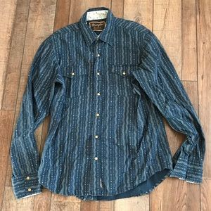 Wrangler retro western shirt men's